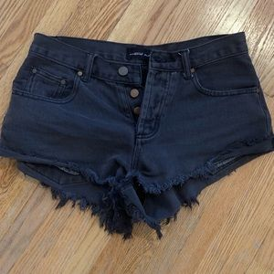 Shorts. Generally used